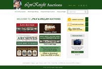 Website Design Konkurrenceindlæg #11 for Redesign an Existing Website for a Currency Auction & Store