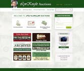 Website Design Konkurrenceindlæg #12 for Redesign an Existing Website for a Currency Auction & Store