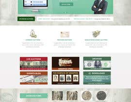 #30 para Redesign an Existing Website for a Currency Auction & Store por Pavithranmm
