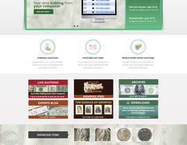 #49 para Redesign an Existing Website for a Currency Auction & Store por Pavithranmm