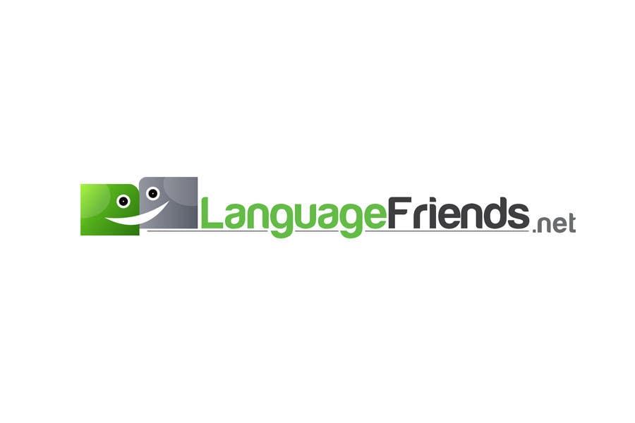 Kilpailutyö #193 kilpailussa Logo Design for An upcoming language exchange partner online portal, www.languagefriends.net