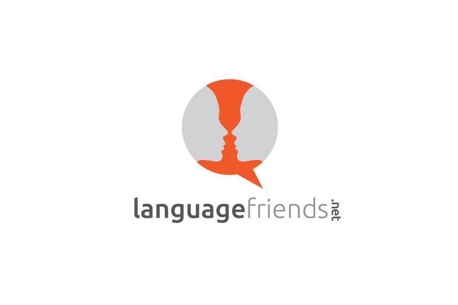 Kilpailutyö #23 kilpailussa Logo Design for An upcoming language exchange partner online portal, www.languagefriends.net