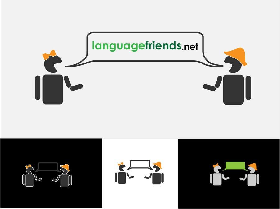 Inscrição nº 12 do Concurso para Logo Design for An upcoming language exchange partner online portal, www.languagefriends.net