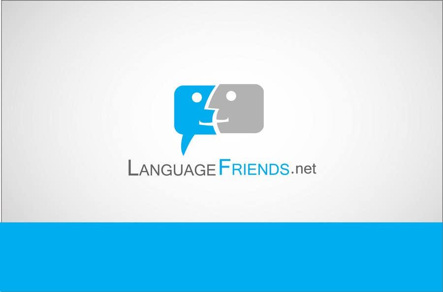 Kilpailutyö #37 kilpailussa Logo Design for An upcoming language exchange partner online portal, www.languagefriends.net