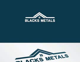#53 for Design a Logo for Black's Metals by stoske