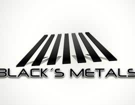 #144 for Design a Logo for Black's Metals by Pedro1973