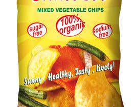 "costin55 tarafından Create Print and Packaging Designs for Health snack ""Veggie and Fruit chip "" için no 18"