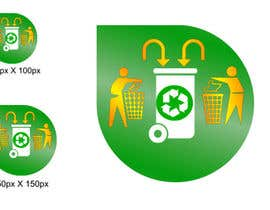 #6 para Design a Logo for a waste separation help site por STPL2013