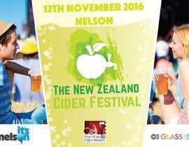 elenaermukhina tarafından New Zealand Cider Festival Banner için no 41