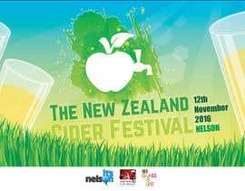 kngoenprayoon tarafından New Zealand Cider Festival Banner için no 11