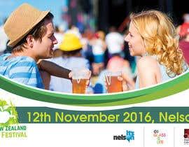 BuDesign tarafından New Zealand Cider Festival Banner için no 40