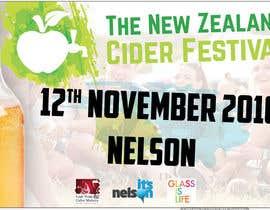 vw7613939vw tarafından New Zealand Cider Festival Banner için no 38
