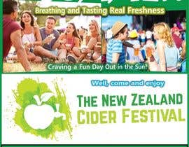 #18 for A3 Poster for The New Zealand Cider Festival by dmcyster