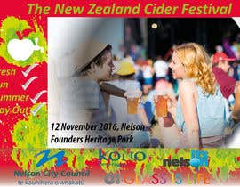 #25 for A3 Poster for The New Zealand Cider Festival by Alex787i