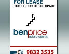 Nro 8 kilpailuun Design a for lease sign käyttäjältä DungDG