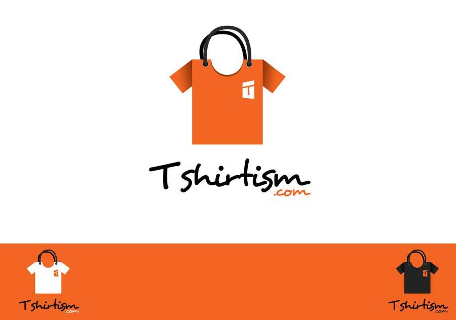 #154 for Design a Logo for tshirtism.com by vishakhvs