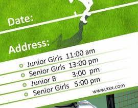 Nro 3 kilpailuun Need an eye carching Tennis Coaching Lesson Flyer käyttäjältä chetaniya