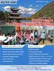 "Contest Entry #45 for Design a Flyer: ""Adventure Awaits - Teach English in China"""