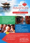 "Contest Entry #40 for Design a Flyer: ""Adventure Awaits - Teach English in China"""