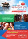 "Contest Entry #43 for Design a Flyer: ""Adventure Awaits - Teach English in China"""