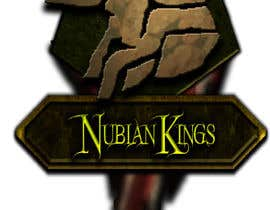 "johnnymakesmetal tarafından Design a Logo for ""Nubian Kings"" Strategy Card Game için no 8"