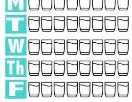 JustJodiM tarafından Design a Weekly Hydration Tracker için no 8