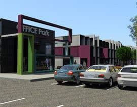 Nro 8 kilpailuun Design container office park käyttäjältä mediatenerife