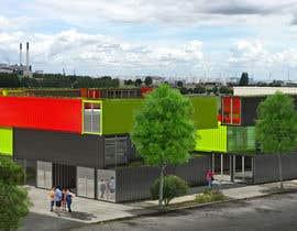 Nro 33 kilpailuun Design container office park käyttäjältä ArchiLab