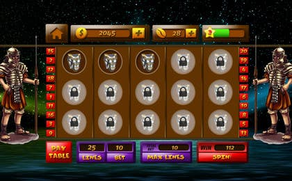 #23 for Design an App Mockup for a Slots App by sharpBD