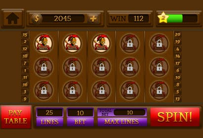 #32 for Design an App Mockup for a Slots App by sharpBD
