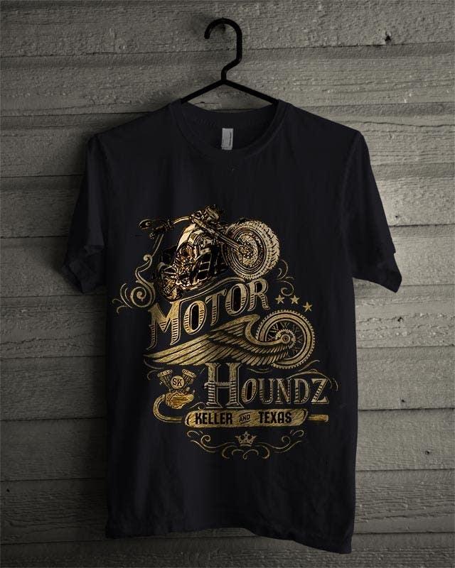 Penyertaan Peraduan #93 untuk AMAZING Tshirt Art Needed for Motorcycle Apparel Company