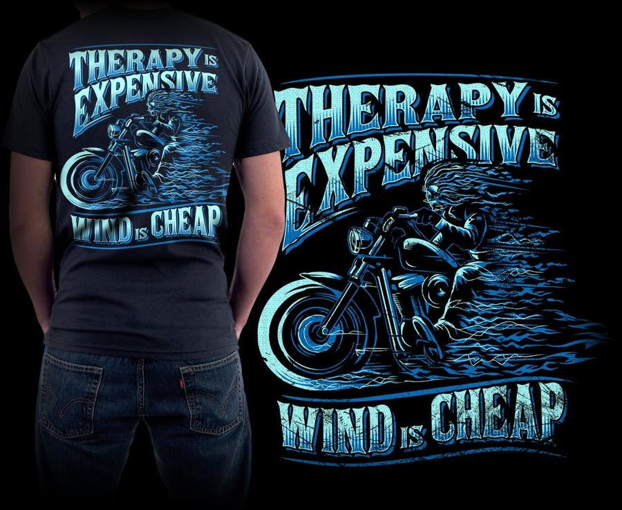 Penyertaan Peraduan #124 untuk AMAZING Tshirt Art Needed for Motorcycle Apparel Company