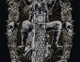 sawokecik28 tarafından AMAZING Tshirt Art Needed for Motorcycle Apparel Company için no 133