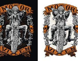 sawokecik28 tarafından AMAZING Tshirt Art Needed for Motorcycle Apparel Company için no 138