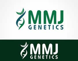 ulogo tarafından Graphic Design Logo for MMJ Genetics and mmjgenetics.com için no 55