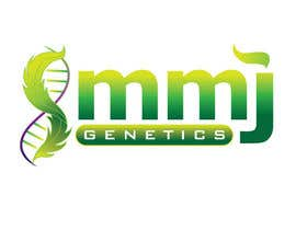 RACKandSTACK tarafından Graphic Design Logo for MMJ Genetics and mmjgenetics.com için no 53