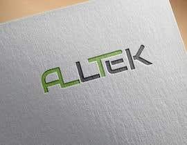 Nro 85 kilpailuun Design en logo for Alltek käyttäjältä anoaraakther3