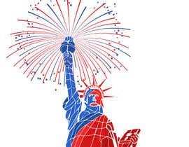 #71 for Create July 4th Themed Vector Art by manabendrag