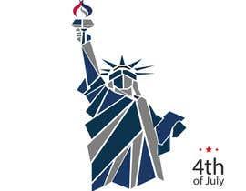 Nro 25 kilpailuun Create July 4th Themed Vector Art käyttäjältä imadelkati