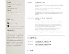 #10 для Make me a new CV / Resume от abshetewy