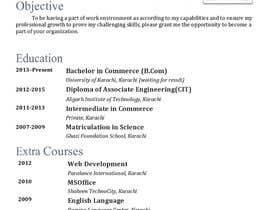 #4 для Make me a new CV / Resume от ojpadmin