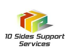 #8 para Design a Logo for (10 Sides Support Services) por hemalibahal