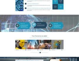 merakinfowayltd tarafından Need A Custom Homepage Design (Winner will get the rest of the job) için no 10
