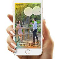Nro 4 kilpailuun Design Snapchat Filters for a wedding käyttäjältä victormorais