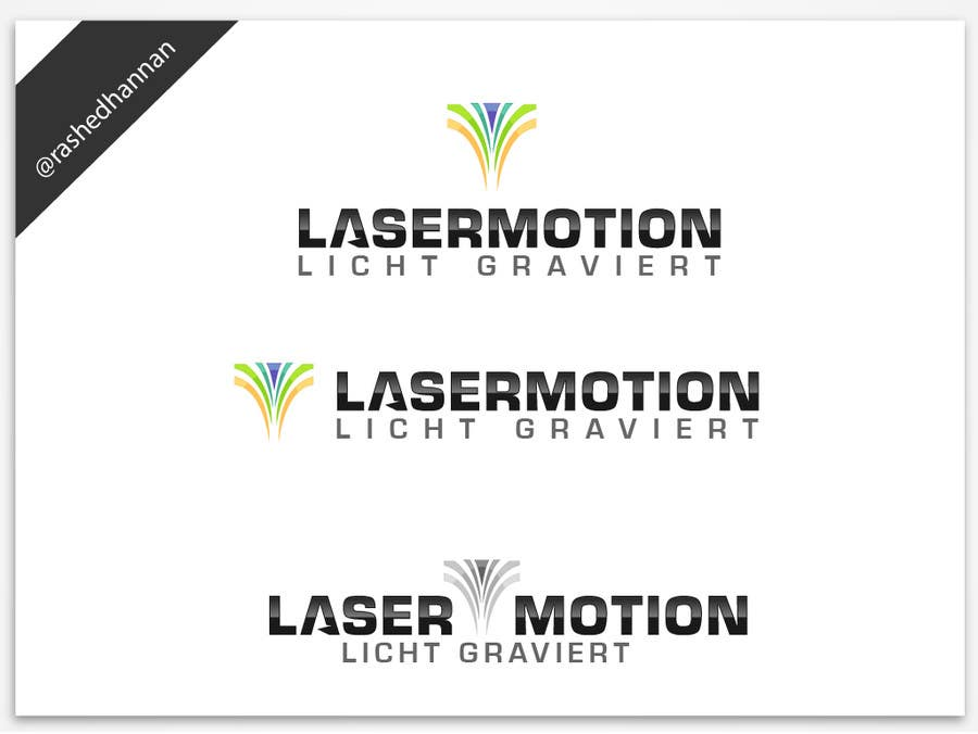#297 for LOGO-DESIGN for a Laser Engraving Company by rashedhannan