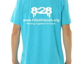nº 8 pour Lillie's Friends Foundation Adult T-Shirt Design par drawbacktrane