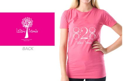 #22 for Lillie's Friends Foundation Adult T-Shirt Design by davidlondon