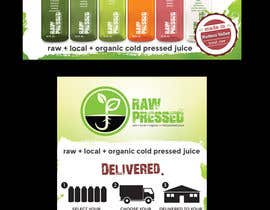 nº 27 pour Design a Flyer for Cold Pressed Juice par samazran