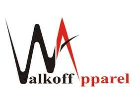#292 para Logo Design for Walkoff Apparel de kediashivani