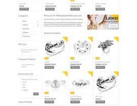 Nro 77 kilpailuun Design the fashion jewelry website mockup käyttäjältä SPYDERTECH
